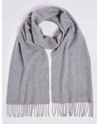 Marks & Spencer - Pure Cashmere Woven Scarf - Lyst