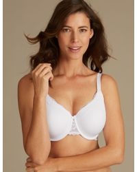 Marks & Spencer - 2 Pack Louisa Lace Padded Full Cup Bras Dd-g - Lyst