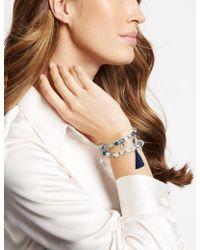 Marks & Spencer - Dizzy Bead Tassel Bracelet - Lyst