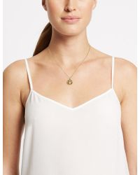 Marks & Spencer - Bling Circle Necklace - Lyst
