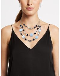 Marks & Spencer - Layered Necklace & Earrings Set - Lyst