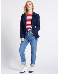 Marks & Spencer - Petite Trench Coat With Stormweartm - Lyst
