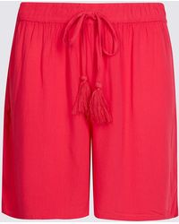 Marks & Spencer - Crinkle Casual Shorts - Lyst