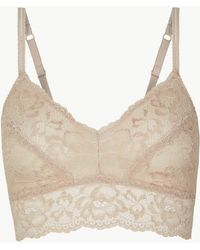 Marks & Spencer - Louisa Lace Non-padded Bralet - Lyst