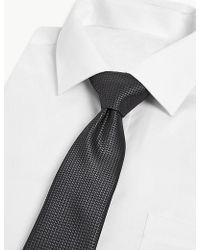 Marks & Spencer 3 Pack Textured Slim Ties - Multicolor