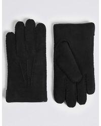 Marks & Spencer - Leather Gloves - Lyst