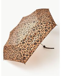 Marks & Spencer - Animal Print Compact Umbrella Natural Mix - Lyst