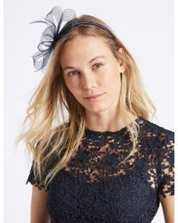 Marks & Spencer - Textured Fascinator Bow - Lyst
