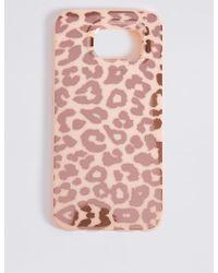 Marks & Spencer - Samsung S6 Animal Print Phone Case - Lyst