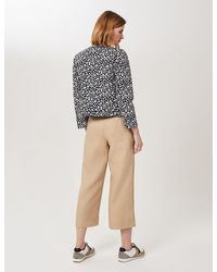 Marks & Spencer Hobbs Pure Linen Leg Cropped Trousers - Natural