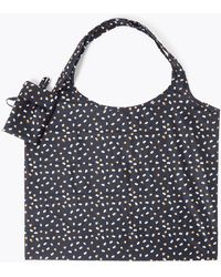 Marks & Spencer Polka Dot Packable Bag - Blue
