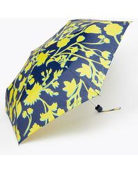 Marks & Spencer Floral Compact Umbrella - Blue