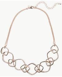 Marks & Spencer Links Necklace - Metallic