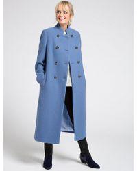 Marks & Spencer - Wool Blend Coat - Lyst