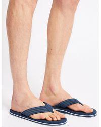 Marks & Spencer - Slip-on Flip Flops - Lyst