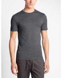 Marks & Spencer - 2 Pack Heatgentm Thermal Short Sleeve Vests - Lyst