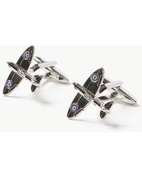 Marks & Spencer Plane Cufflinks - Metallic