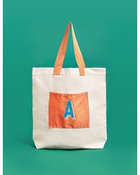 Marks & Spencer Alphabet Tote Bag - Multicolor