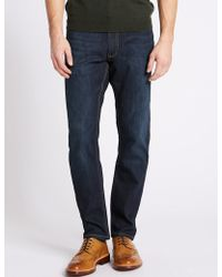 Marks & Spencer - Luxury Performance Slim Fit Jeans - Lyst