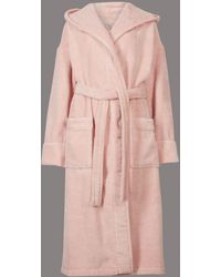 Marks & Spencer - Pure Cotton Towelling Dressing Gown - Lyst