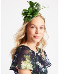 Marks & Spencer - Feather Twisted Bow Fascinator - Lyst