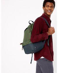 Marks & Spencer Pro-tecttm Backpack - Green
