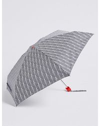 Marks & Spencer - Printed Compact Umbrella With Stormweartm - Lyst