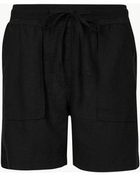 Marks & Spencer - Linen Rich Chino Shorts - Lyst