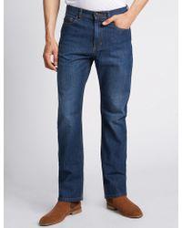 Marks & Spencer | Regular Fit Stretch Jeans | Lyst