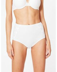 6f706463453 Marks & Spencer 2 Pack Cotton Rich Padded Full Cup T-shirt Bra A-e - Lyst