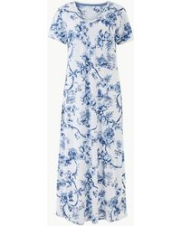 Marks & Spencer - Cool Comforttm Cotton Modal Floral Nightdress - Lyst