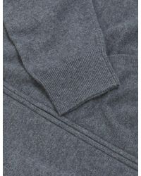 Marks & Spencer Autograph Pure Cashmere Zip Up Knitted Hoodie - Grey