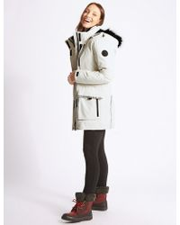 Marks & Spencer - Padded Coat With Stormweartm - Lyst