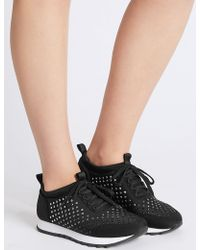 Marks & Spencer - Lace-up Trainers With Insolia® - Lyst