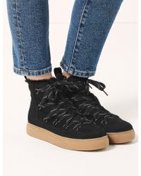 Marks & Spencer - Lace-up Ankle Snow Boots - Lyst