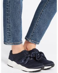 Marks & Spencer - Slip-on Bow Trainers - Lyst