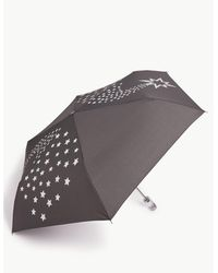 Marks & Spencer - Snow Globe Effect Handle Compact Umbrella Black Mix - Lyst