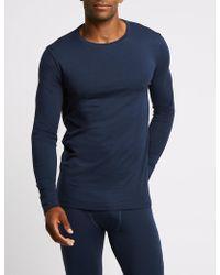 Marks & Spencer - 2 Pack Heatgentm Long Sleeve Vests - Lyst