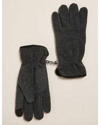 Marks & Spencer Fleece Gloves With Thermowarmthtm - Multicolor