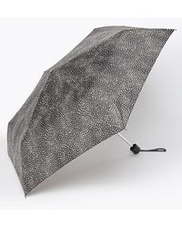 Marks & Spencer Polka Dot Compact Umbrella - Black