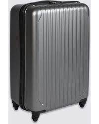Marks & Spencer - Medium 4 Wheel Hard Suitcase With Security Zip - Lyst