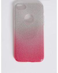 Marks & Spencer - Iphone 7 Glitter Phone Case - Lyst