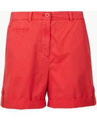 Marks & Spencer - Pure Cotton Chino Shorts - Lyst