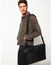 Marks & Spencer Leather Single Briefcase - Black