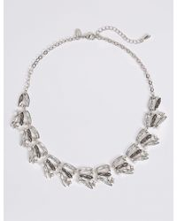Marks & Spencer - Crystal Mix Collar Necklace - Lyst