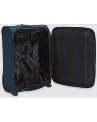 Marks & Spencer - M&s Collection Cabin 2 Wheel Essential Soft Suitcase With Security Zip - Lyst