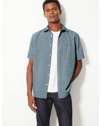 Marks & Spencer - Printed Shirt - Lyst