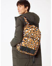 Marks & Spencer Laptop Backpack - Brown