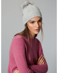 5251b1f8c5f Marks   Spencer - Cashmere Bobble Beanie Hat - Lyst