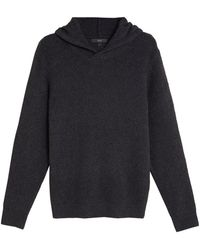 Marks & Spencer Cotton Knitted Hoodie - Green